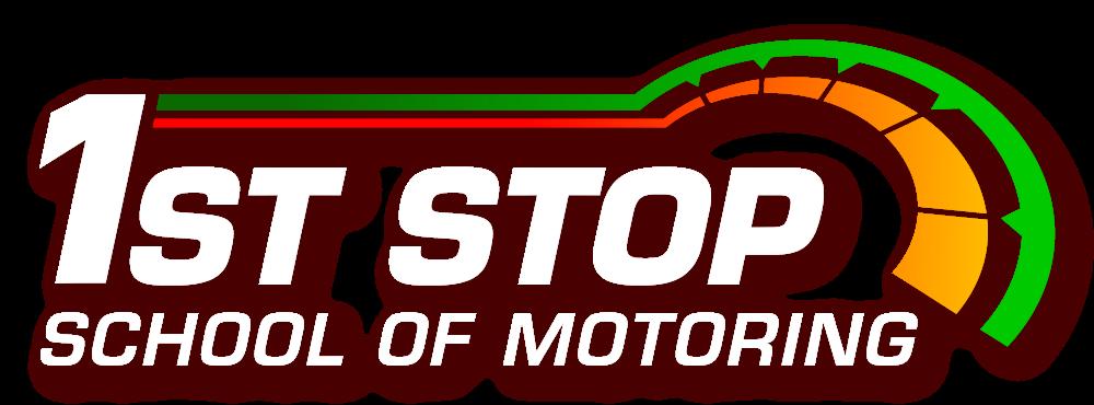 1st Stop School of Motoring logo